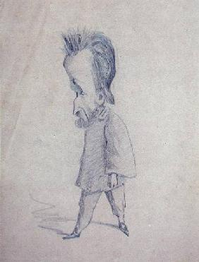 Caricature of the Journalist Theodore Pelloquet
