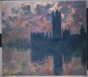 Houses of Parliament, Sunset