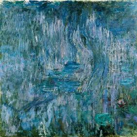 Waterlilies with Reflections of a Willow Tree 1916-19