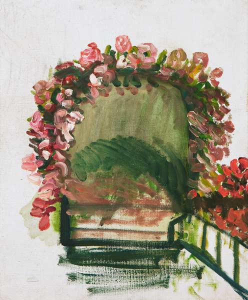 Roses arches, Giverny, 1912-13