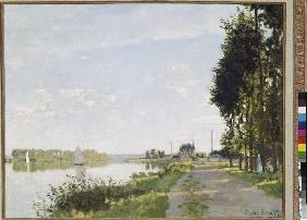 The walk at Argenteuil
