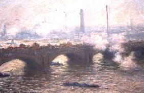 Study of Waterloo Bridge at Dusk
