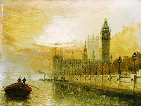 View Of Westminster From The Thames