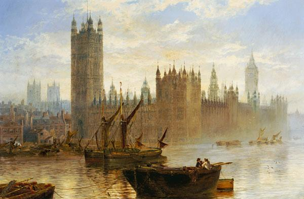 Westminster From The Thames