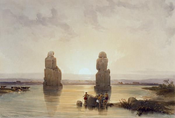 Thebes-West, Memnon Colossi