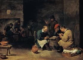 D.Teniers th.Y./ Card Players /Ptg./C17