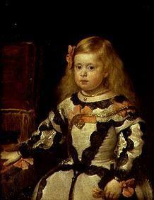 The infanta of Maria Marguerita, daughter Philipps IV. of Spain