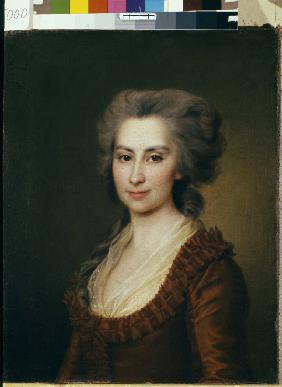 Portrait of Countess Praskovya Vorontsova (1749-1797)