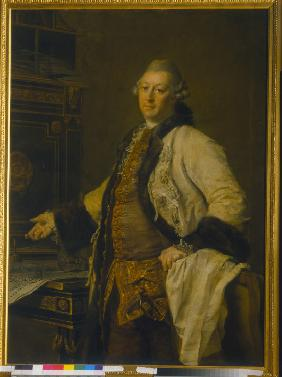 Portrait of the architect Alexander Kokorinov (1726-1772)