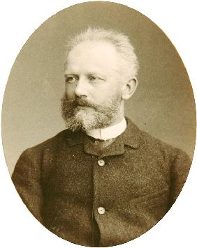 Portrait of the composer Pyotr I. Tchaikovsky (1840-1893)