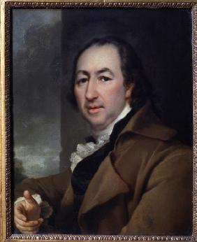Portrait of the writer Nikolay I. Novikov (1744-1818)