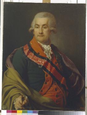 Portrait of Count Otto Heinrich Igelström (1737-1817)