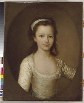 Portrait of Countess Yekaterina Artemyevna Vorontsova (1780-1836) as Child