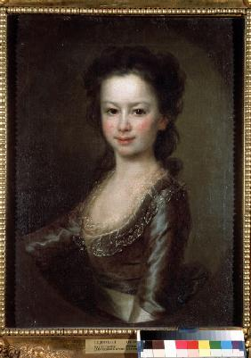 Portrait of Countess Maria Artemyevna Vorontsova as Child