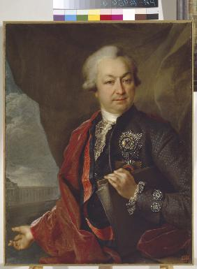 Portrait of the Count Ivan Ivanovich Shuvalov (1727-1797)