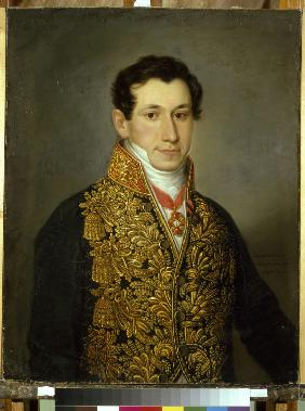 Portrait of Grigory Mitusov (1795-1871)