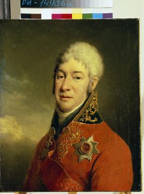 Portrait of Ivan Vladimirovich Lopukhin (1756-1816), philosopher, mystic, writer and humanitarian