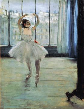 Dancer in Front of a Window (Dancer at the Photographer's Studio)