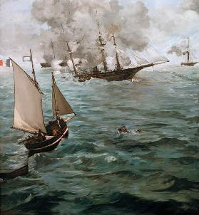The Battle of the Kearsarge and the Alabama