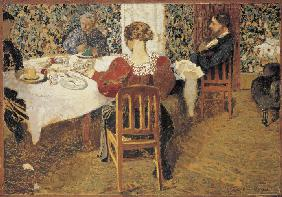 A table (Le Dejeuner)