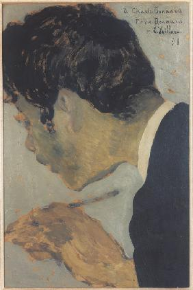Portrait of Pierre Bonnard (1867-1947)