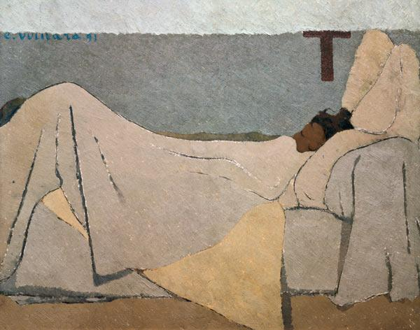 In Bed, 1891 (oil on canvas)