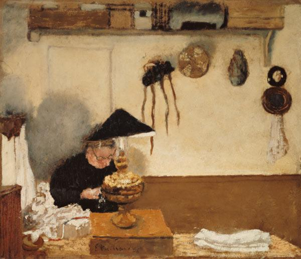 Madam Vuillard when sewing