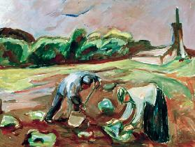 Munch, Potato harvest