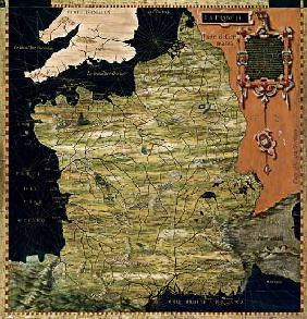 Map of Sixteenth Century France