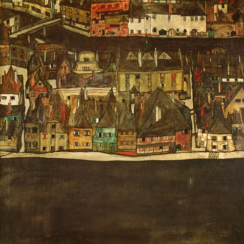 Krumau on the molde the small city egon schiele for Egon schiele tutte le opere