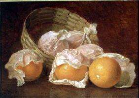 A Basket of Oranges