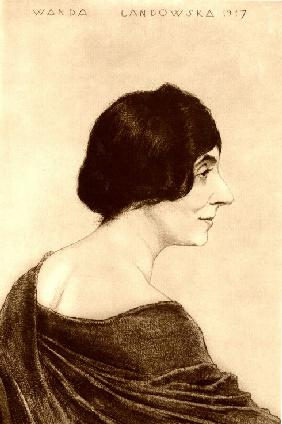 Portrait of Wanda Landowska (1879-1959)