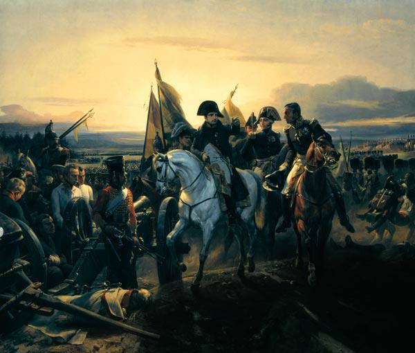 Napoleon on Friedland Battlefield 1807