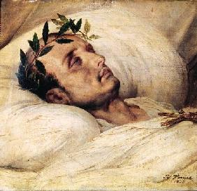 Napoleon I (1769-1821) on his Deathbed