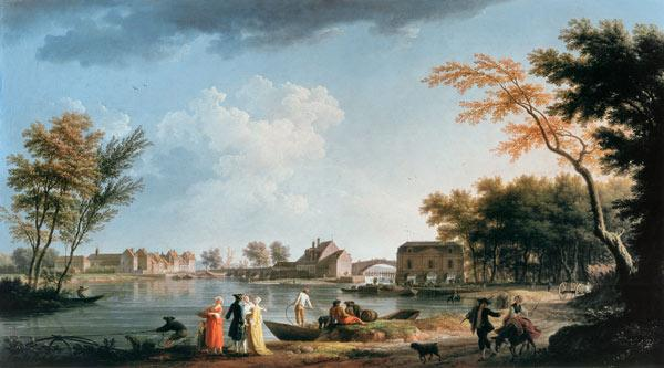 Vernet, View of Nogent-sur-Seine / 1764