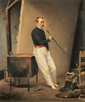 Horace Vernet / Self-portrait