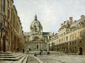 The Courtyard of the Old Sorbonne