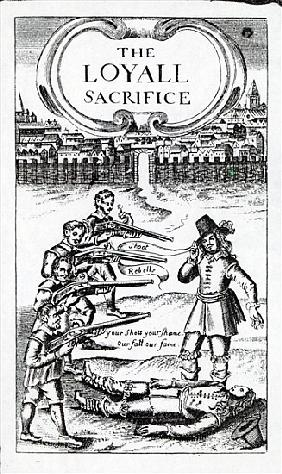 ''The Loyall Sacrifice'', pamphlet circulated in 1648