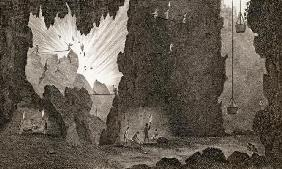 View of an Iron Mine, c.1783 (engraving)