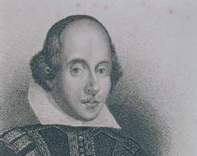 William Shakespeare (1564-1616) (engraving)