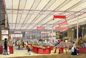 Colonial Produce in the Great Exhibition of 1851, from Dickinson's Comprehensive Pictures (coloured
