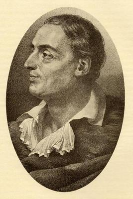 Denis Diderot (1713-84) (engraving)