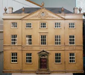 Doll's house, Neo-Classical Adam Style, c.1810 (mixed media)
