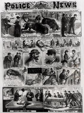 Incidents Relating to the East End Murders, from 'The Illustrated Police News', 20th October 1888 (e