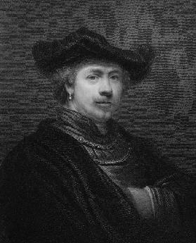 Rembrandt Harmens van Rijn from 'The Gallery of Portraits'