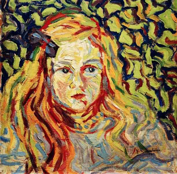 Ernst Ludwig Kirchner - kinderkoepfchen-1