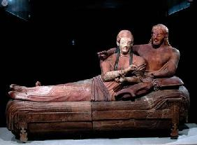 Sarcophagus of a married couple