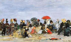 Figures on a Beach