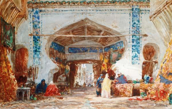 Bazaar in Constantinople
