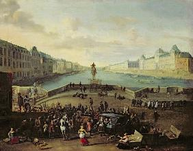 The Pont Neuf, Paris, 1665-69